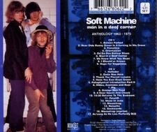 SOFT MACHINE MAN IN A DEAF CORNER Anthology 1963-1970 2 CDs Like New Come Nuovo