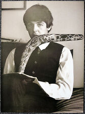 THE BEATLES POSTER PAGE . PAUL MCCARTNEY MELBOURNE 1964 . G3