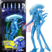 "NECA Aliens Kenner Blue Warrior Alien 7"" Action Figure Collection Series 11 New"