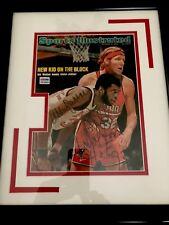 Kareem Abdul-Jabbar Dual Signed Bill Walton SI Magazine UCLA Framed.PSA/DNA