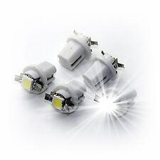 20X B8.3D BAX10s T5 Amaturenbeleuchtung Innenraum Tacho Tachobeleuchtung LED rot