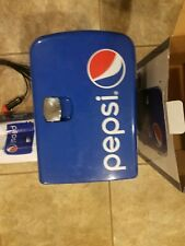 `Pepsi Portable 6 Can Mini Fridge Cooler & Warmer - Home ,Office