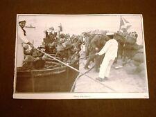 Spedizione dell'Italia Libia nel 1911 Sbarco della Fanteria a Tripoli Cirenaica