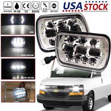 "DOT 5x7"" 7x6"" LED Headlight for Chevy Express Cargo Van 1500 2500 3500 Truck 4WD"