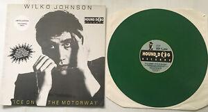 WILKO JOHNSON 'ICE ON THE MOTORWAY' Vinyl LP Green Limited Edition