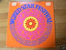 LP VINYL RECORD WORLD STAR FESTIVAL BASSEY,JONES,SINATRA,SPRINGFIELD,ROSS