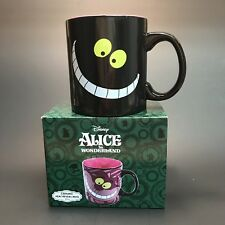 Disney Heat Reveal Mug Curiouser And Curiouser Cheshire Cat Alice in Wonderland