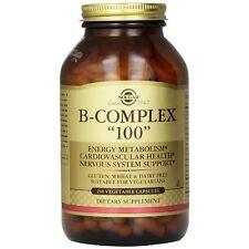 """Solgar, Vitamin B-Complex """"100"""" Vegetable Capsules, 250"""