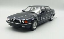 BMW 730i 1986 E32 Dunkelblau-Met. Modellauto 1:18 Minichamps 100023006 NEU & OVP