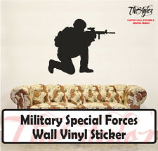 Military Special Forces Custom Wall Vinyl Sticker