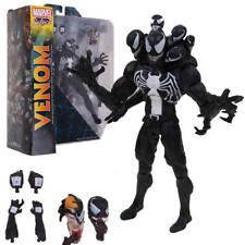 Marvel Spiderman SELECT Venom Villian Comic Action Figure PVC Toys 20cm