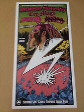 BREAKDOWN Cro Mags Antidote Dr Know Bad Brains Benefit Concert Poster NYC nyhc