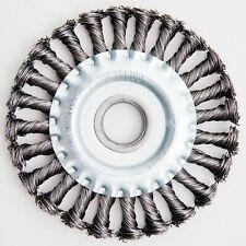 Ø 125 mm Scheibenbürste Bohrung 22,2 mm gezopft für Winkelschleifer Drahtbürste