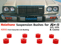 Rx5 / 121 / 121L / Cosmo Suspension Bushings (Nolathane 42032 - Front Sway Bar)