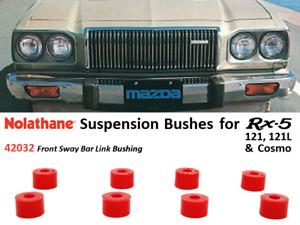 Rx5 / 121 / 121L / Cosmo Suspension Bushings (Nolathane 42032 - Front Sway Bar)