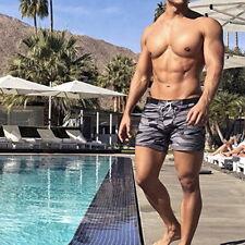 Men's Camouflage Swimwear Briefs Board Shorts Plus Size Summer Beach Shorts