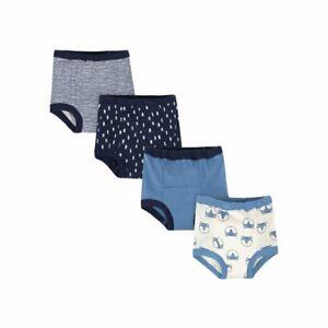 Gerber Toddler Boys Assorted Training Pants, 4-Pack, 18 Months- Blue