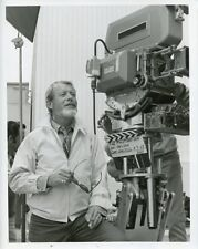 GENE NELSON WITH CAMERA ON SET WAKE ME WHEN THE WAR IS OVER 1969 ABC TV PHOTO