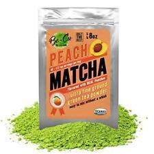 Peach Organic Matcha Green Tea Powder