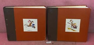 The Complete Calvin And Hobbes Book One And Book Three.