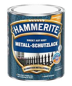 Hammerite Metallschutz-Lack Hammerschlag 750 ml NEU versch. Farben! Blitzversand