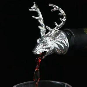 Retro Deer Shape Wine Whiskey Alcohol Pourer 4 Colors Liquor Decanter Spout