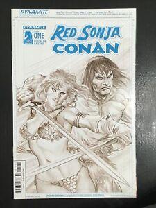 Red Sonja/Conan #1 NM Alex Ross sketch variant Dynamite Entertainment