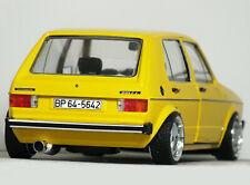 "1:18 Custom ""MK1 VOLKSWAGEN GOLF Diesel 5-DR"" MODIFIED TUNING VW Rabbit GTi TDi"