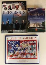 LOT 3~THE PRESIDENTS/HISTORY CHANNEL DVD~PRESIDENTS/ BOOK~I LIVE IN AMERICA/BOOK