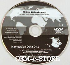 Only for 2009 2010 2011 Cadillac DTS Navigation DVD Map U.S. Canada 7.0c Update