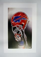 "Buffalo Bills NFL Football 20"" x 30"" Team Lithograph Print (scarce)"