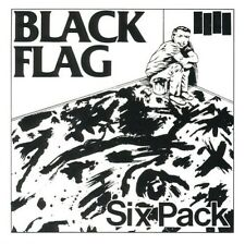 BLACK FLAG - SIX PACK  CD SINGLE NEU