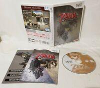 The Legend of Zelda: Twilight Princess - Complete - Nintendo Wii