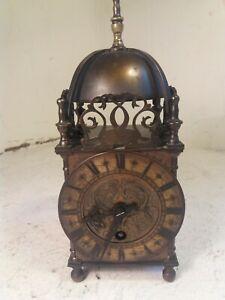 Large Antique Lantern Clock