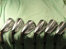 LH Razr X Muscleback / 2013 Callaway X Forged combo set...5-PW...Project X 6.0