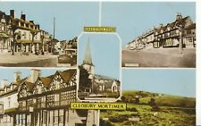 Shropshire Postcard - Greetings from Cleobury Mortimer - Ref DR248