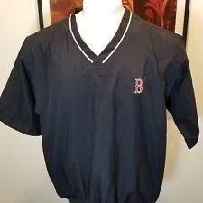 Cutter & Buck  Boston Red Sox Short Sleeve Windbreaker Pullover Jacket.  Sz M
