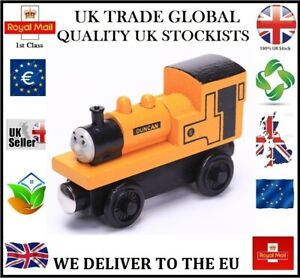 DUNCAN THOMAS THE TANK ENGINE FRIENDS WOODEN TOY TRAIN MAGNETIC BRIO COMPATIBLE