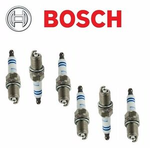 Fits Dodge Jeep Chrysler Set of 6 Spark Plugs Bosch OE Fine Wire Platinum 6717
