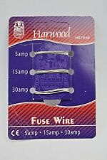 Harwood 5A 15A 30A Assorted Rewireable Consumer Fuse Wires HE7546 (G186)