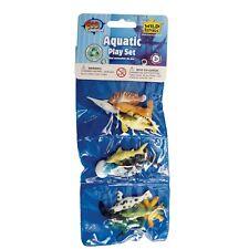 12 pièces animaux aquatiques playset-Wild république triple mini ocean polybag play