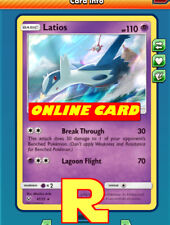 Latios Playset ( Break Through ) for Pokemon TCG Online ( ptcgo in Game Card)
