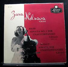 Zara Nelsova - Reger Sonata No. 2 / Kodaly Sonata LP VG LL 1252 UK 1st Record