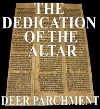 TORAH SCROLL BIBLE VELLUM MANUSCRIPT FRAGMENT 250 YRS PERSIA Numbers 7:2-7:87