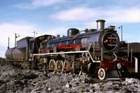 PHOTO  SOUTH AFRICAN RAILWAYS A 19D CLASS 4-8-2 ON SHED AT GRAAFF REINET INTRODU