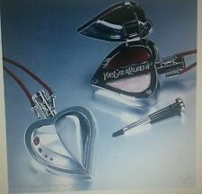 100%  YSL The Bow Collection Couture Makeup Charm Duo for Lips Palette