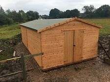 24x12 heavy duty workshop/shed/garden shed/wooden building/ garage.