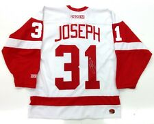 CURTIS JOSEPH SIGNED DETROIT RED WINGS CCM JERSEY NWOT