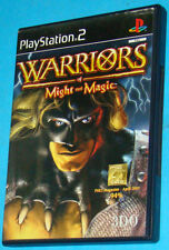 Warriors of Might and Magic - Sony Playstation 2 PS2 - PAL