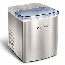 Ice Maker Machine for Countertop, Dreamiracle Ice Cubes Ready in 6 Mins, 33 lbs